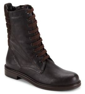 Quilted Leather Boots $495 thestylecure.com