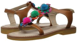 Elephantito Caribe Pom Pom Sandal Girls Shoes