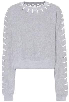 Jonathan Simkhai Whipstitch cotton sweatshirt