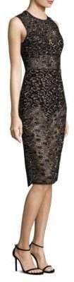 BCBGMAXAZRIA Lace Sheath Dress