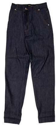 Vanessa Seward Mid-Rise Straight-Leg Jeans blue Mid-Rise Straight-Leg Jeans