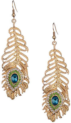 Eye Candy Los Angeles Shine My Ear Enamel Statement Earrings