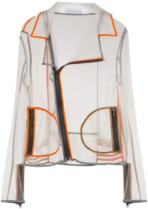 M·A·C Mara Mac transparent biker jacket