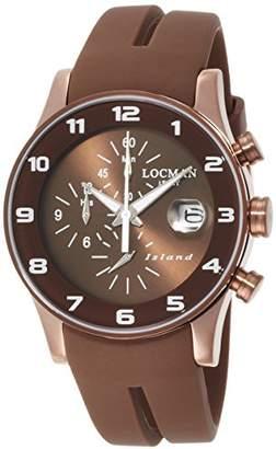 Locman (ロックマン) - [ロックマン]LOCMAN 腕時計 アイランド クオーツクロノグラフ シリコン ユニセックス 0620 0620BNNW-BNW2SIN 【正規輸入品】