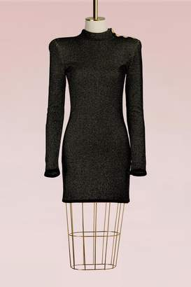 Balmain Short knit dress