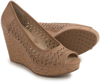 Adrienne Vittadini Carilena Wedge Sandals - Leather (For Women) $39.99 thestylecure.com