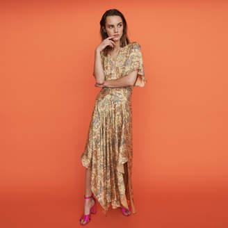 Maje Paisley print maxi dress