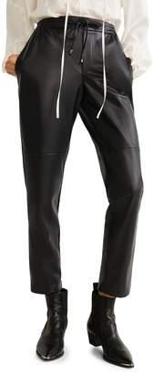 MANGO High-Waist Trousers