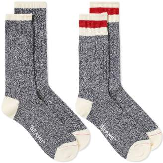 Beams Ragg Sock - 2 Pack