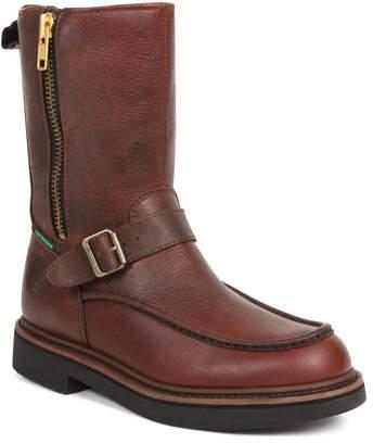 Georgia Boot Men's G41 Waterproof Side Zip Moc Toe Wellington Boots