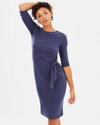 Warehouse Slinky Twist Dress
