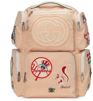 Gucci Large backpack with NY YankeesTM patches