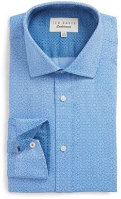 Ted Baker Colston Endurance Trim Fit Floral Dress Shirt