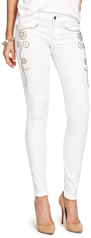 GUESS by Marciano The Skinny No. 61 Jean - Gold Studded