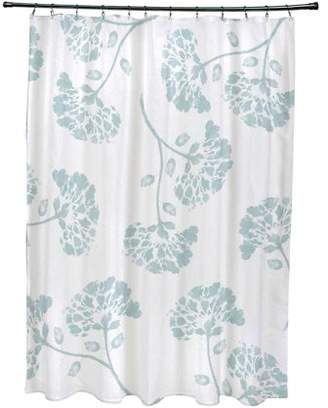 "Simply Daisy 71"" x 74"" April Floral Print Shower Curtain"