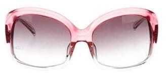 Matthew Williamson Gradient Square Sunglasses