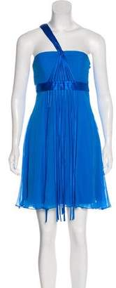 Sue Wong Sleeveless Silk Cocktail Dress w/ Tags