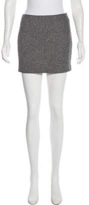 Alexander Wang Mélange Mini Skirt