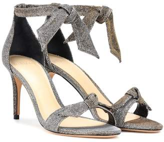 Alexandre Birman Clarita 75 metallic sandals