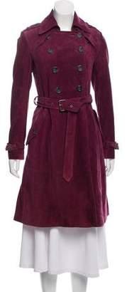 Rebecca Minkoff Suede Trench Coat
