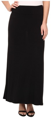 kensie - Light Weight Viscose Spandex Maxi Skirt KS9K6S02 Women's Skirt $49 thestylecure.com