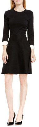 Women's Vince Camuto Fit & Flare Sweater Dress $139 thestylecure.com