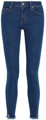 IRO Frayed Mid-Rise Skinny Jeans