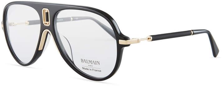 Balmain Acetate Aviator Optical Frames