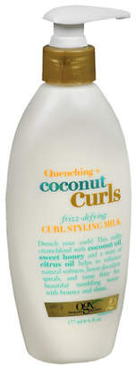 OGX Quenching Coconut Curls Frizz Defying Curl Mix $7.99 thestylecure.com
