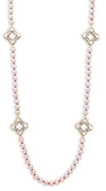 Heidi Daus Crystal Long Strand Necklace