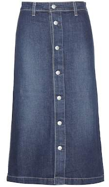 AG Jeans Alexa Chung for Cool denim midi skirt