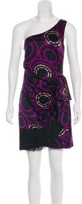 Trina Turk Printed Silk Dress