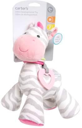 Carter's Baby Zebra Plush Activity Toy
