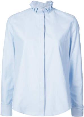 Protagonist ruffle neck shirt