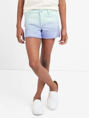 Gap Shorty Shorts in Ombre with Stretch