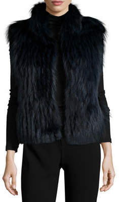Gorski Fox Fur Jacket w/ Removable Down Sleeves