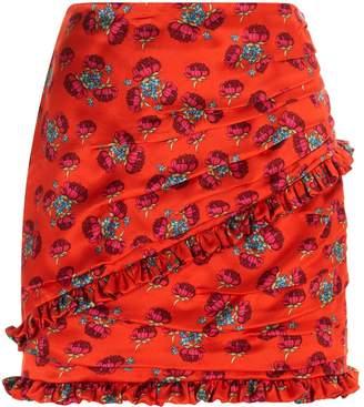 Magda Butrym Reims Floral Mini Skirt