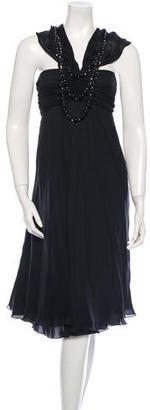 La Perla Silk Bead Embellished Dress $110 thestylecure.com