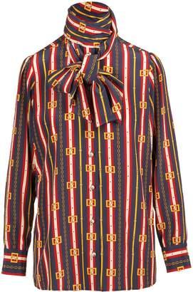 Gucci Gg Belt Printing Shirt