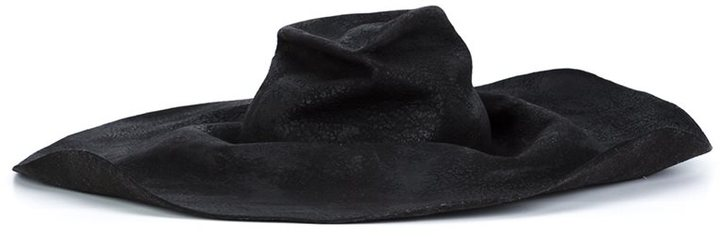Horisaki Design & Handel 'Hard' burnt fur hat