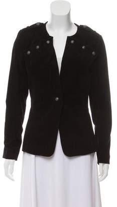 Charlotte Ronson Long Sleeve Corduroy Jacket