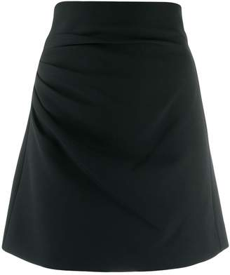 P.A.R.O.S.H. drape detail skirt