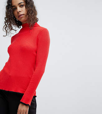 Asos Sweater in Rib with Flared Sleeve