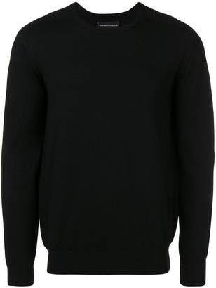 Emporio Armani knitted jumper