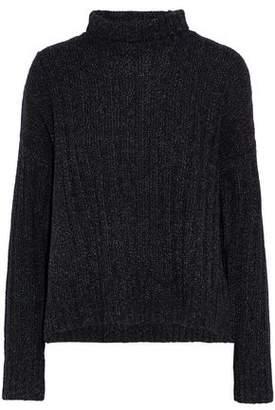 Derek Lam 10 Crosby Marled Wool And Cotton-Blend Turtleneck Sweater