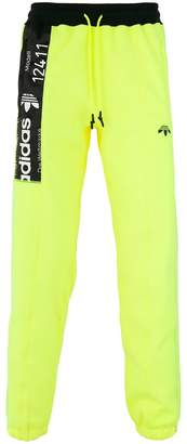 adidas By Alexander Wang inside out graphic track pants