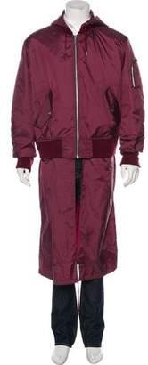 Public School Hooded Bomber Jacket