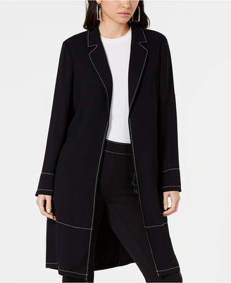 Alfani Contrast-Stitch Jacket, Created for Macy's