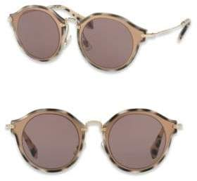Miu Miu 49MM Pantos Round Sunglasses