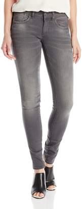G Star Women's Lynn Mid Skinny Jeans in Slander Grey Superstretch